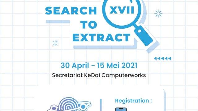 Search To Extract XVII KeDai Computerworks Kembali Hadir Tahun Ini