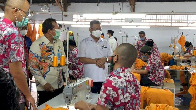 UNM dan Lapas Kelas 1 Makassar Jalin Kerjasama Pembuatan Almamater