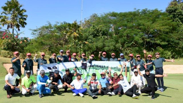 Dipimpin Rusdin Abdullah, Senior HIPMI Golf Club Sulsel Trip to Bali