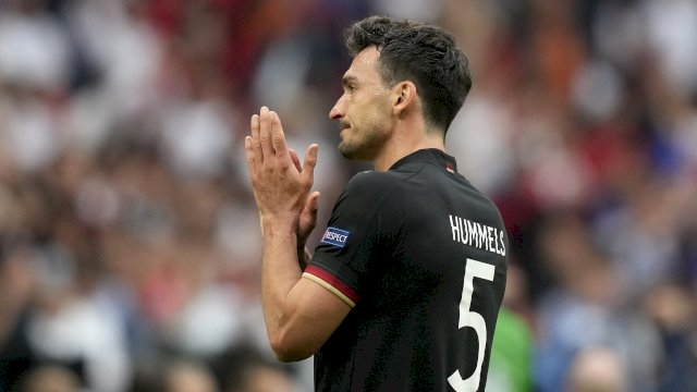 Matt Hummels gagal membawa Jerman ke 8 besar Euro 2020 setelah disingkirkan Inggris.