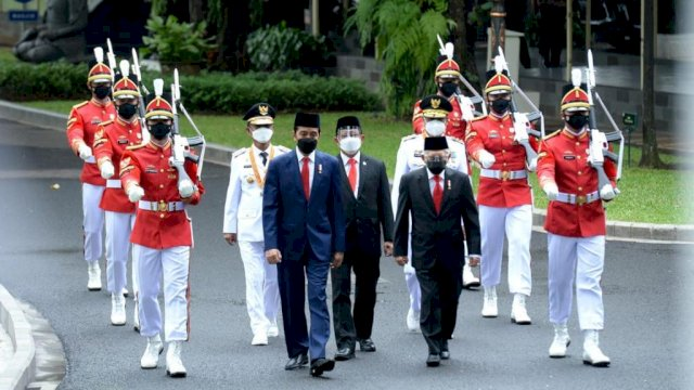 Dilantik Jokowi, Rusdy Mastura-Ma'mun Amir Gubernur dan Wagub Sulteng 2021-2024