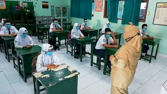 Mulai Tatap Muka di Sekolah, Pemkot Parepare Masih Pikir-pikir