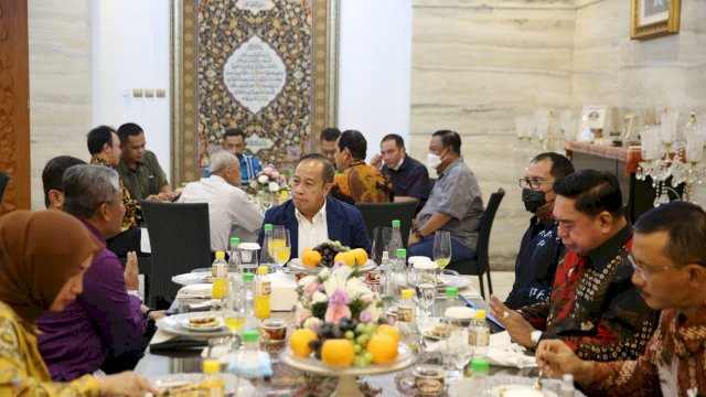 Danny Pomanto Gelar Jamuan Makan Malam Sambut Kedatangan Gubernur Lemhanas