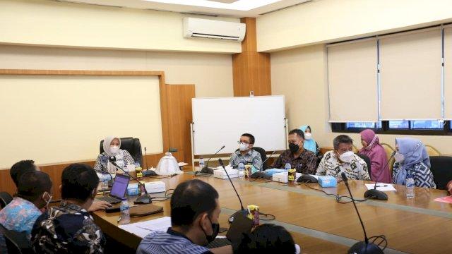 Rapat Tindak Lanjut LHP BPK, Fatmawati Targetkan Tahun Depan Pemkot Makassar Raih WTP