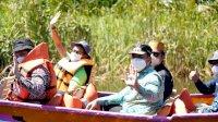 Kunker di Maros, Menparekraf Sandiaga Uno dan Atta Halilintar Saling Berbalas Pantun