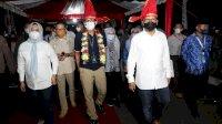 Kenalkan Icon Makassar, Danny Ajak Sandiaga Uno Keliling Laut Losari
