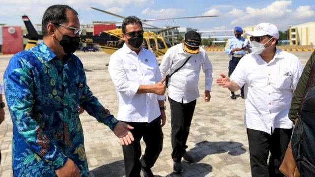 Di Hadapan Menteri Kelautan dan Perikanan, Danny Pomanto Sebut Untia Pelabuhan Potensial