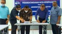 Teken MoU, UPA dan AKP Widya Buana Perkuat Pengelolaan Keuangan Aparat Desa se-Jawa Tengah
