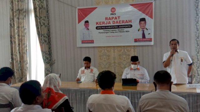 Kader PKS Jeneponto Dorong Amri Arsyid Bertarung di Pilgub Sulsel