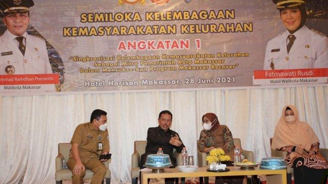 Satukan Persepsi, Pemkot Makassar Gelar Semiloka Kelembagaan Kelurahan