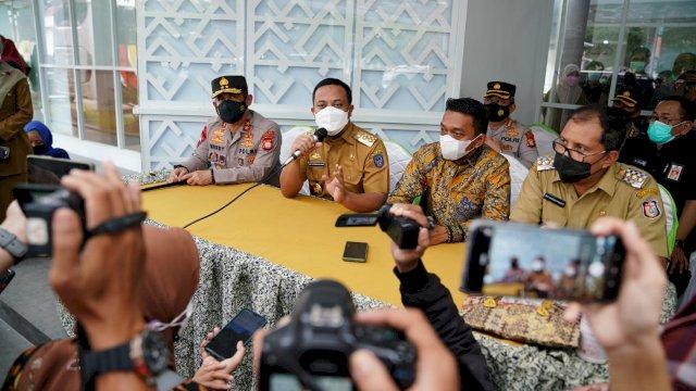 Pantau RSKD Dadi dan RS Bhayangkara, Plt Gubernur Sulsel Klaim Kasus Positif Covid-19 di Sulsel Terkendali