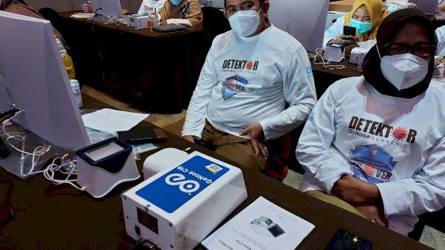 Deteksi Covid, Pemkot Makassar Bimtek Tenaga Layanan GeNose C19