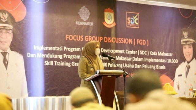 Wawali Makassar Resmi Buka Implementasi SDC Peluang Bagi Pengangguran