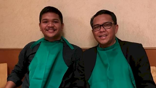 M Fathul Fauzy alias Uji dan Nurdin Abdullah.