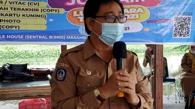 Suaib Mansur Minta Warga Sukseskan Vaksinasi Covid-19 di Luwu Utara