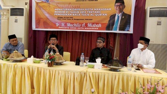 Muchlis Misbah Minta Pemkot Makassar Beri Perhatian Khusus ke Guru Mengaji