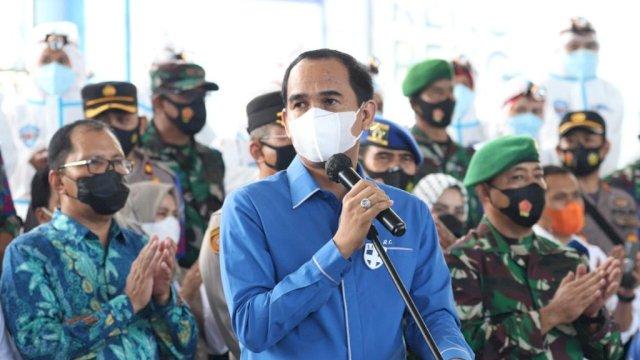 (Ketua DPRD Makassar, Rudianto Lallo)