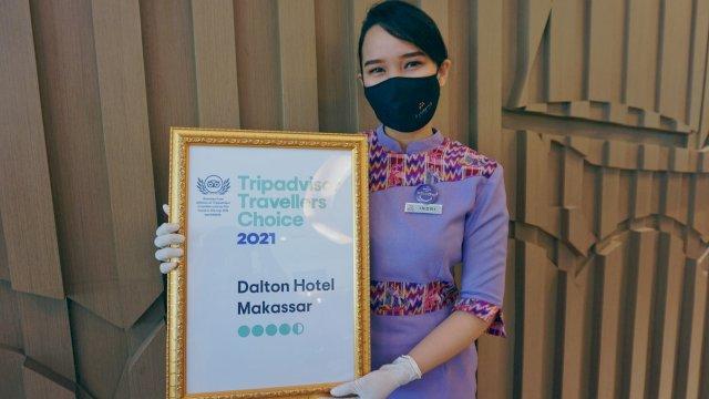 5 Tahun Berturut-turut, Dalton Makassar Raih Travelles Choice Award