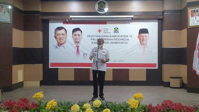 Keponakan Bupati Jadi Calon Tunggal Ketua PMI Jeneponto