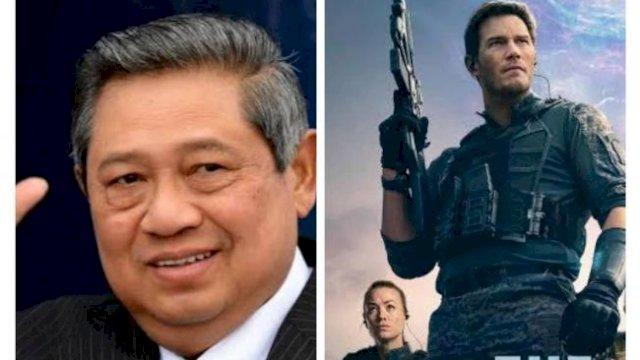 SBY dan Film Tomorrow War. (Instagram)