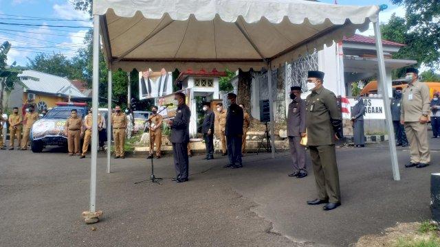 Walikota Parepare, Taufan Pawe melaunching Pasar Murah jelang Lebaran Idul Adha, Selasa (13/7/2021).