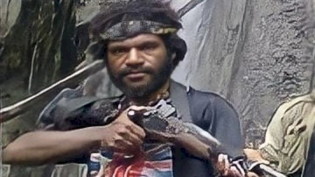 Osimin Wenda, anggota KKB yang pernah menembaki rombongan Tito Karnavian saat masih menjabat Kapolda Papua.