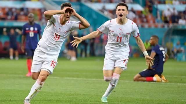 Swiss akan menghadapi Spanyol dalam 8 besar Euro 2020.