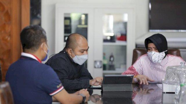Plh Kadis Pariwisata Bahas Persiapan CBFW 2021 Bersama Ketua TP PKK Makassar