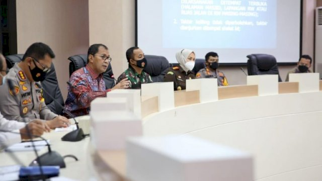 Danny Pimpin Rakor Bersama Forkopimda Dan Tokoh Agama Bahas Pelaksanaan Shalat Idul Fitri
