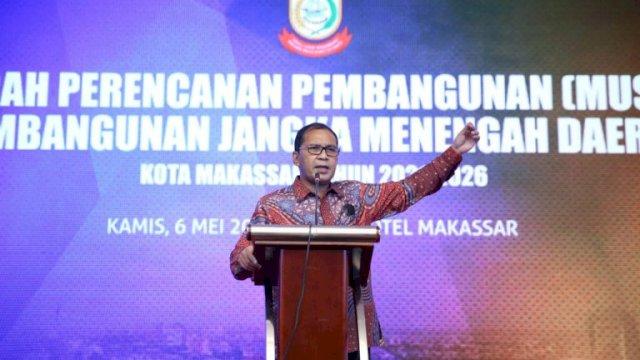 Musrembang RPJMD 2021-2026 Kota Makassar Fokuskan Penanganan Pandemi Covid 19