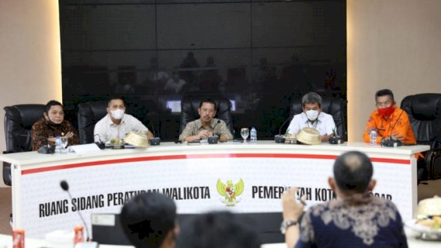 Pimpin Rakor TJPRD Bersama Pelindo IV, Sekkot Makassar Harap Tol MNP Segera Terwujud