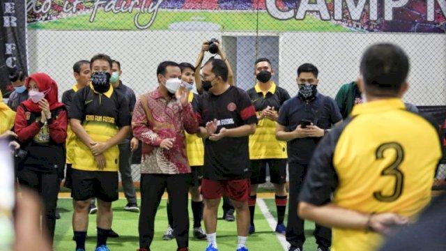 Akhir Pekan Danny Futsal Bareng Alumni Teknik Unhas