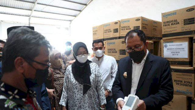 Pastikan Kesiapan Launching Tim Detektor, Danny Tinjau Gudang Makassar Recover