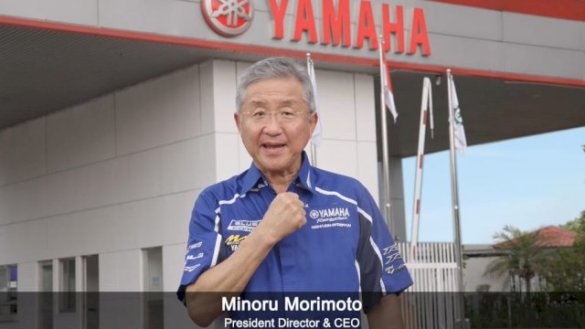 Filosofi Kando Jadi Spirit Yamaha di Hari Ulang Tahun