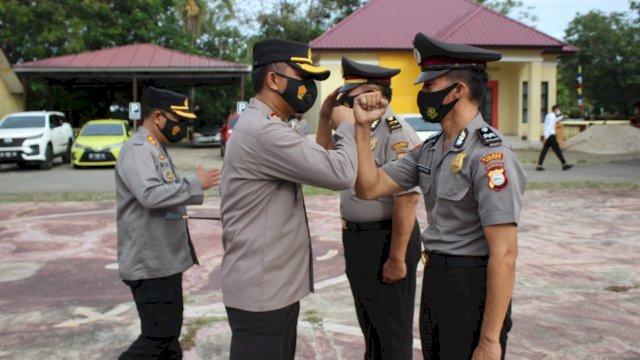 Selamat! 27 Personel Polres Jeneponto Naik Pangkat