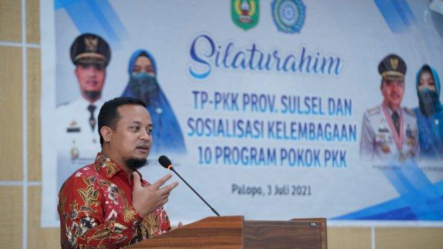 Kasus Covid Meningkat, Plt Gubernur Sulsel Ajak Masyarakat Semarakkan Baca Al-Qur'an