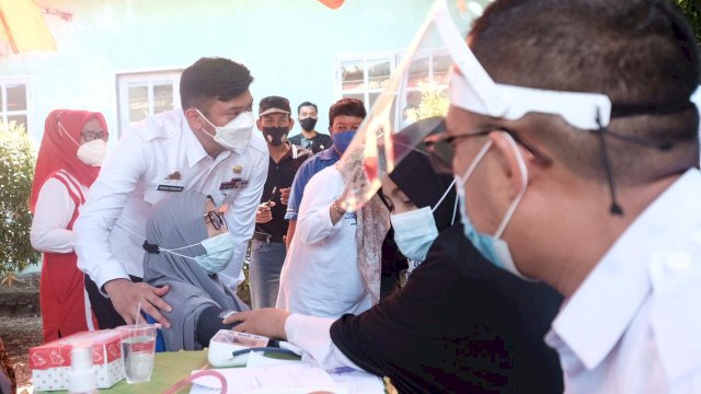 Bupati Adnan Imbau Jajarannya Percepat Proses Vaksinasi Covid-19