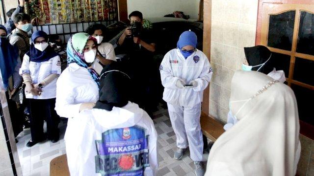 Fatmawati Rusdi Tinjau Kesiapan Tim Detektor Kelurahan Borong Dan Masale