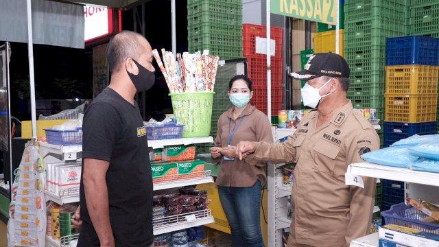 Wabup Gowa Pantau Pelaksanaan PPKM Mikro di Hari Pertama