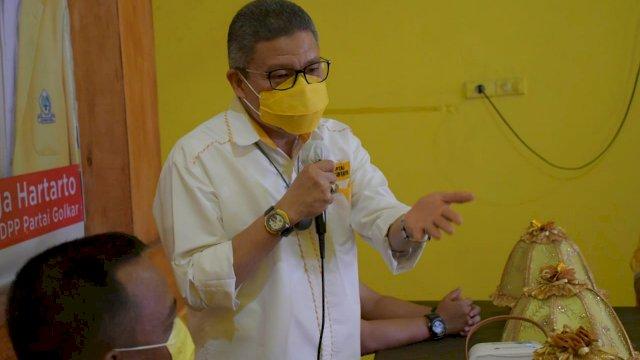 Kader Golkar Luwu Siap Buktikan Kemenangan Airlangga dan Taufan Pawe