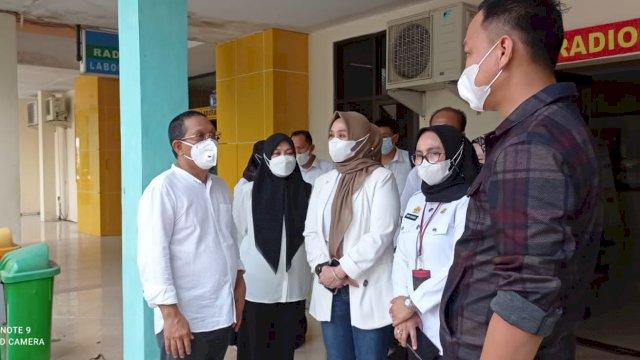 Ketua DPRD Sulsel Pantau Kesiapan Rumah Sakit Hadapi Lonjakan Covid-19