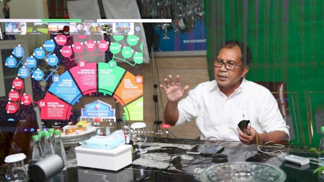 Bersama IDI Makassar, Danny Bahas Program Makassar Recover dan Isolasi Apung
