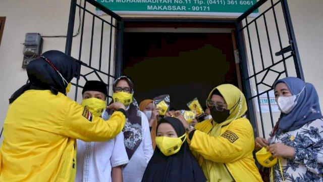 Sampaikan Pesan Cinta Airlangga dan TP, KPPG Serahkan Daging Kurban ke Panti Asuhan