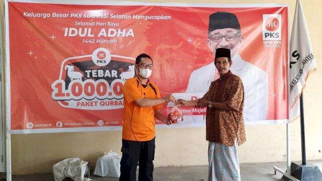 Fraksi PKS DPRD Sulsel Sukseskan 1 Juta Paket Kurban