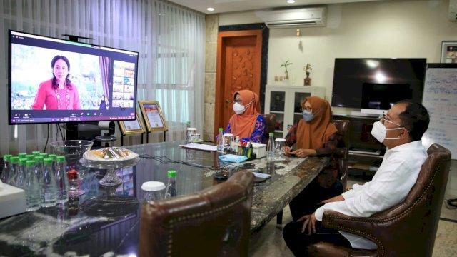 Danny Hadiri Puncak Peringatan Hari Anak Nasional 2021 Secara Virtual Bersama Presiden Joko Widodo