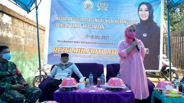 Legislator NasDem Sulsel Ajak Warga Ikut Vaksin dan Taat Prokes Covid-19