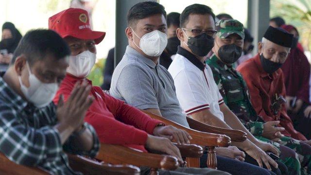 Amir Uskara dan Bupati Adnan Hadiri Vaksinasi Massal di Madrasah Arifah Gowa
