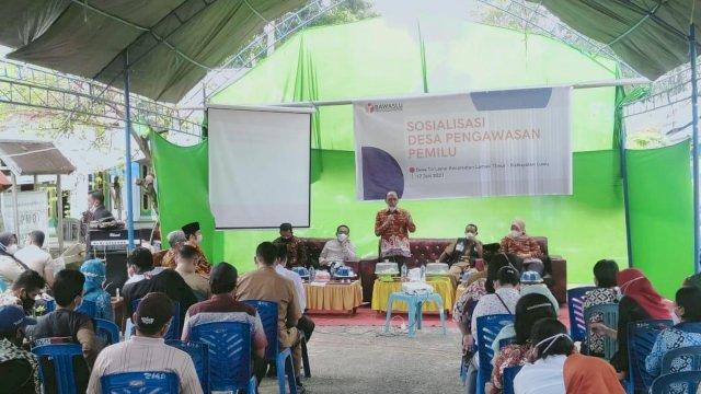 Bawaslu Sulsel Canangkan Desa Sadar Anti Politik Uang di Luwu