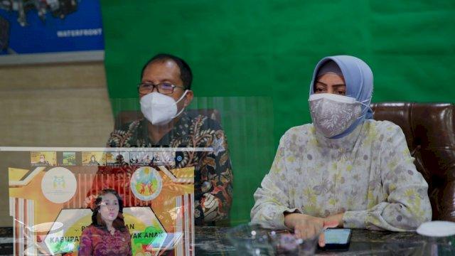 Pemkot Makassar Raih Kategori Layak Anak Tingkat Madya Dari Kemen PPPA RI