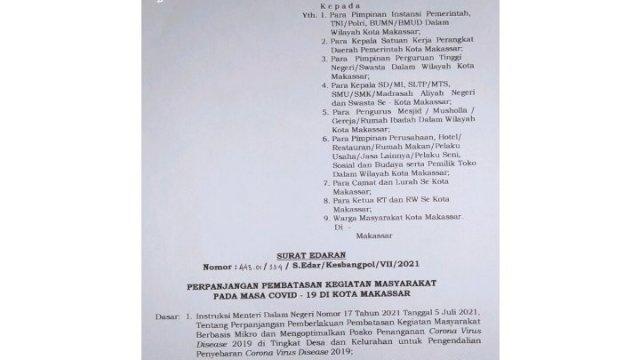 Kebijakan Baru Pemkot Makassar, Mall dan Warkop Hanya Diizinkan Beroperasi Sampai Jam 5 Sore